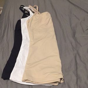 Control tank top - nude color remaining
